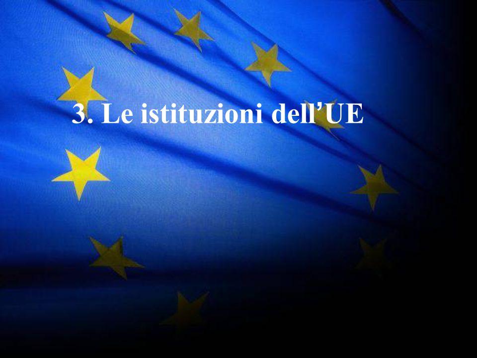 3. Le istituzioni dell'UE