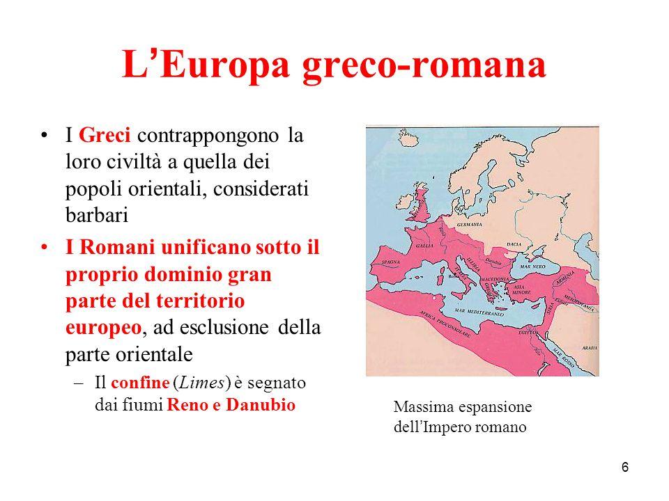 L'Europa greco-romana
