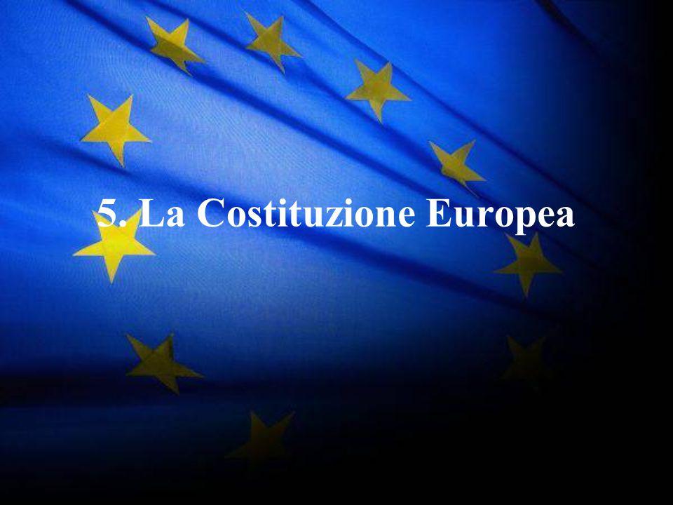 5. La Costituzione Europea