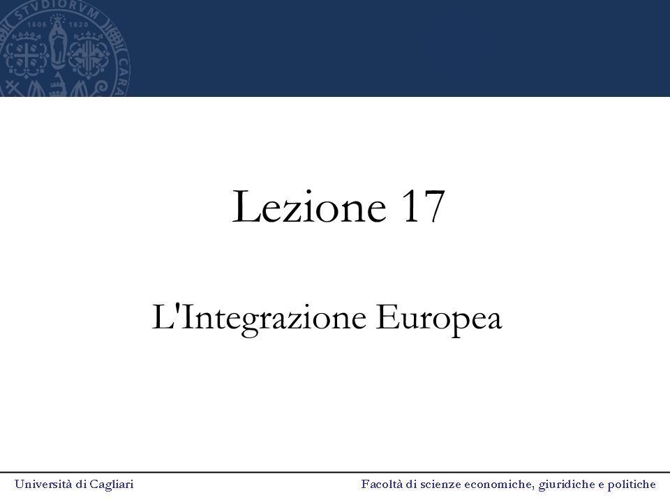 L Integrazione Europea