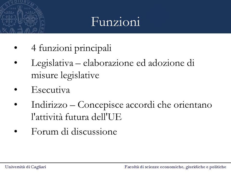Funzioni 4 funzioni principali