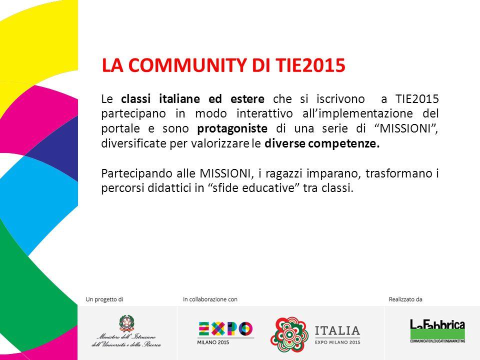 LA COMMUNITY DI TIE2015