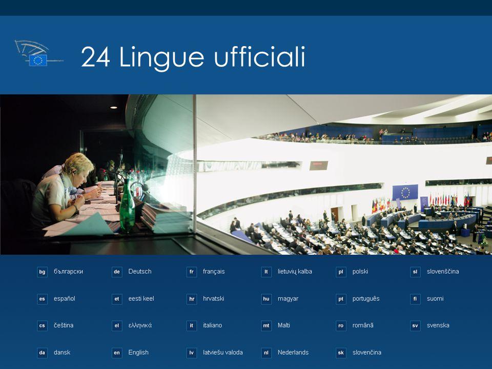 24 Lingue ufficiali