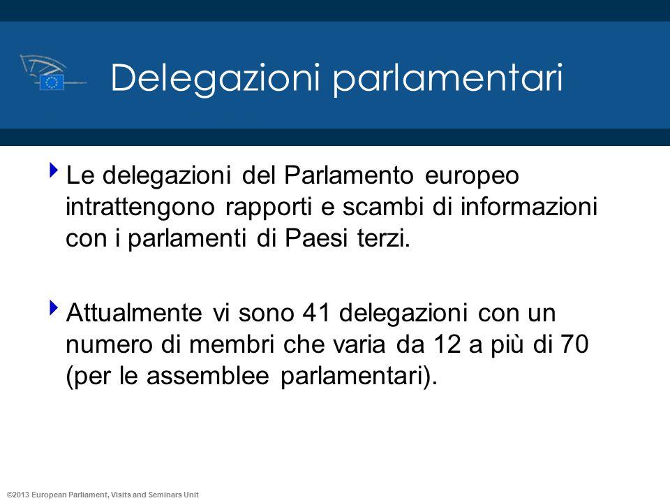 Delegazioni parlamentari