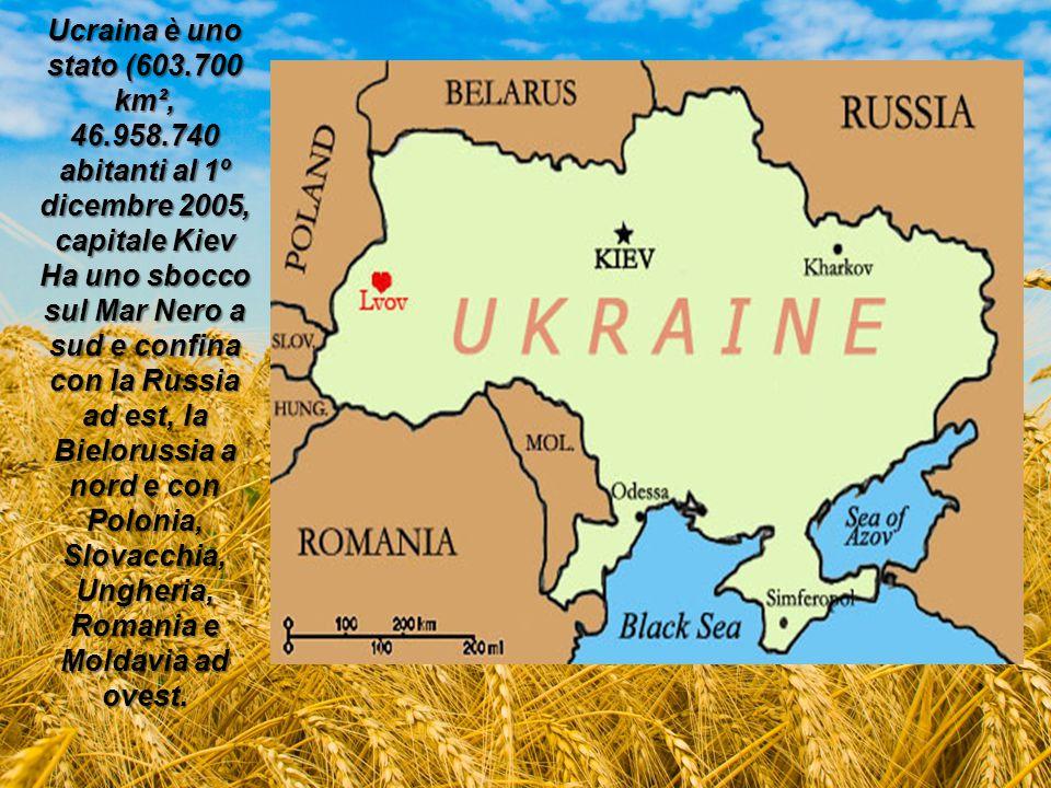 Ucraina è uno stato (603. 700 km², 46. 958