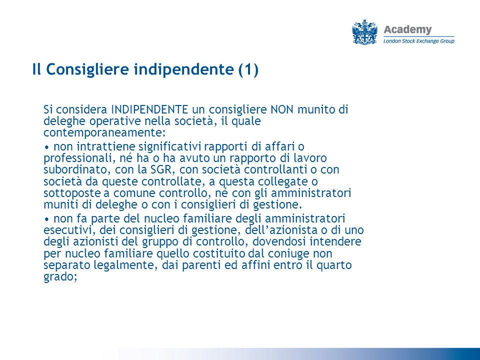 Il Consigliere indipendente (1)