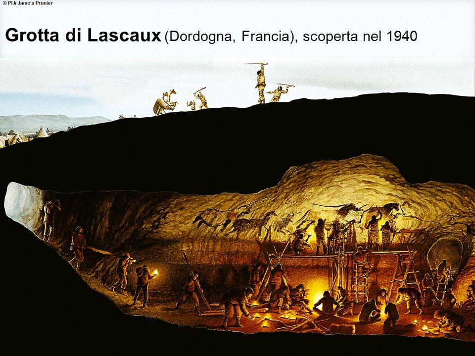 Grotta di Lascaux (Dordogna, Francia), scoperta nel 1940