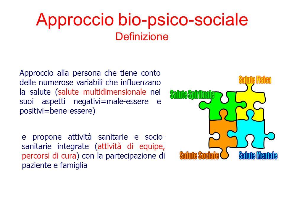 Approccio bio-psico-sociale Definizione
