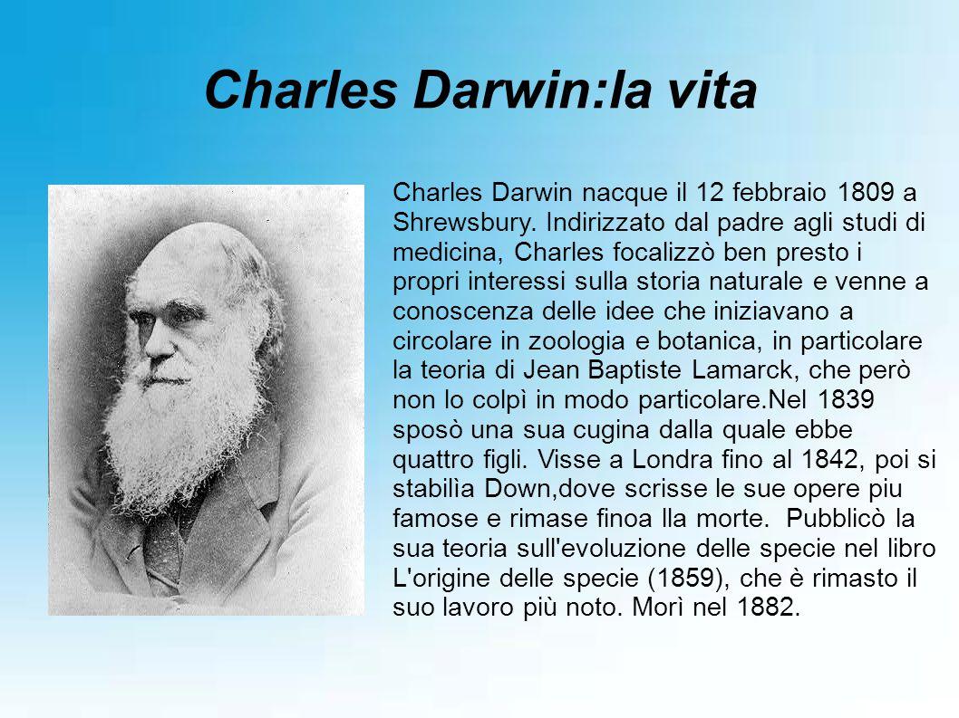 Charles Darwin:la vita