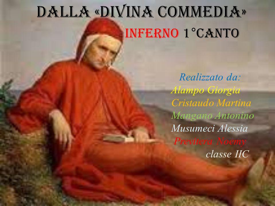 DALLA «Divina commedia»
