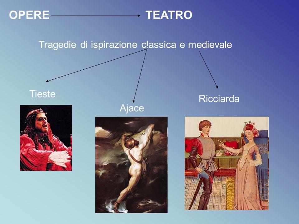Tragedie di ispirazione classica e medievale
