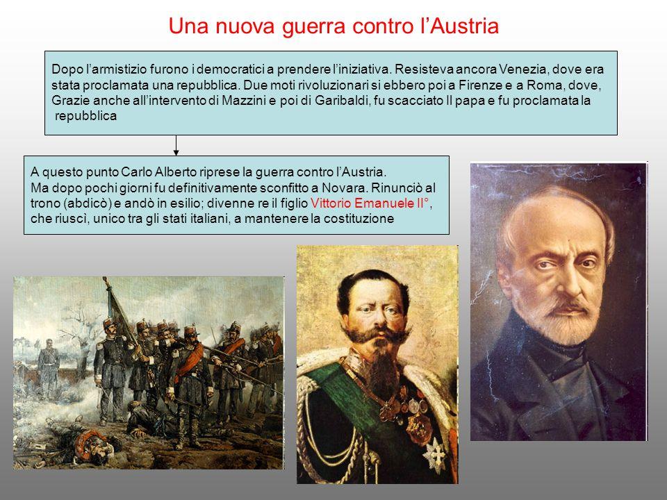 Una nuova guerra contro l'Austria