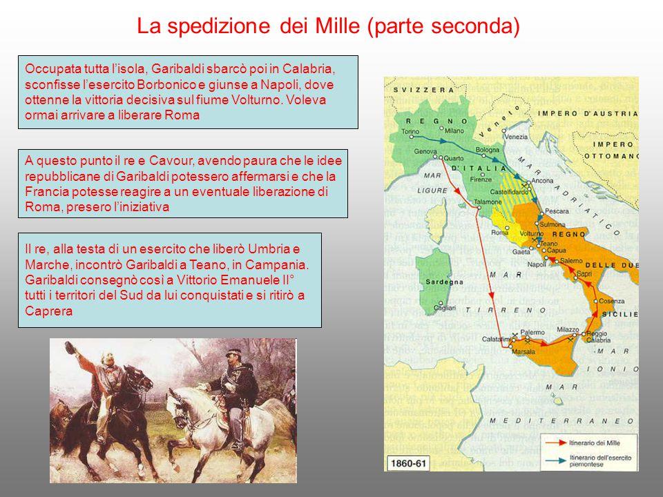 La spedizione dei Mille (parte seconda)