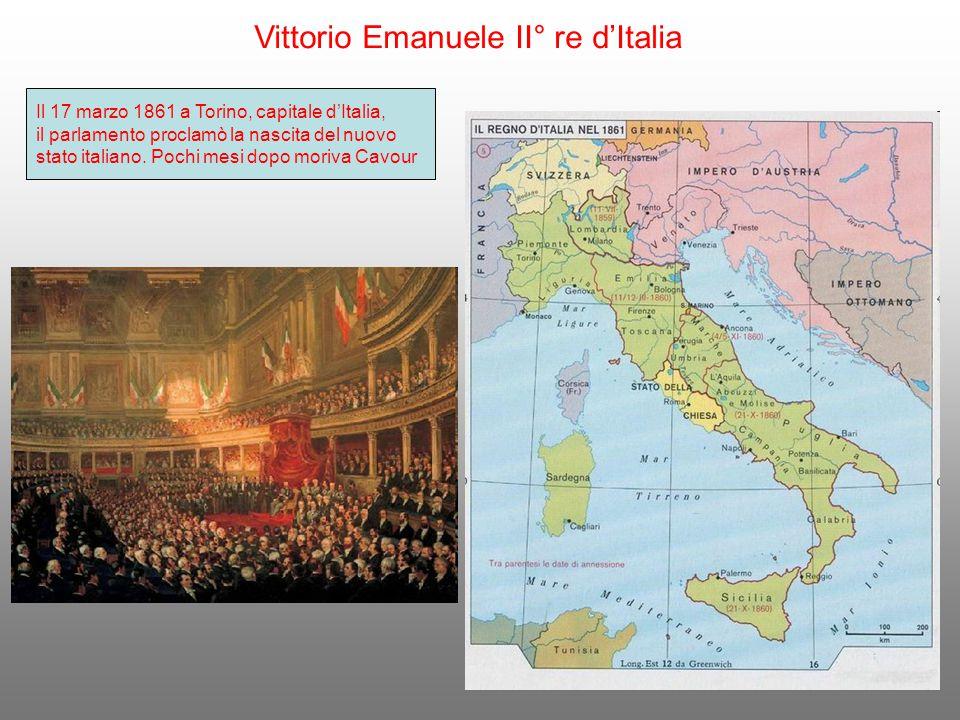 Vittorio Emanuele II° re d'Italia