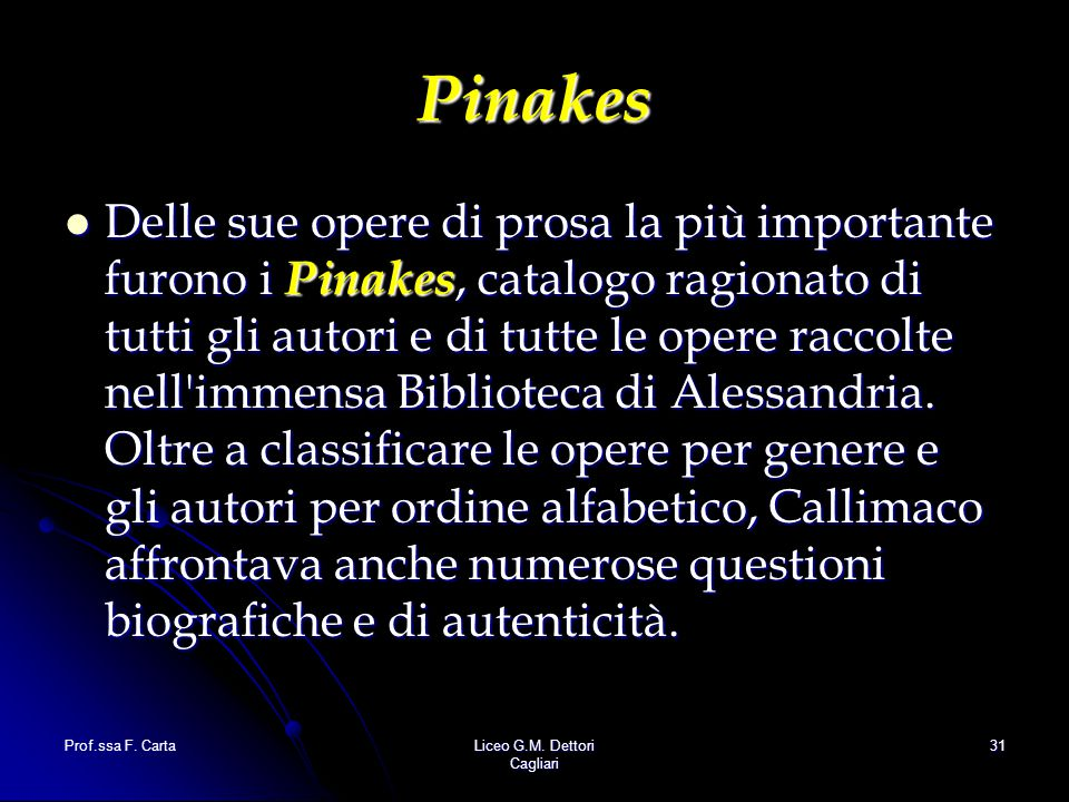 Pinakes