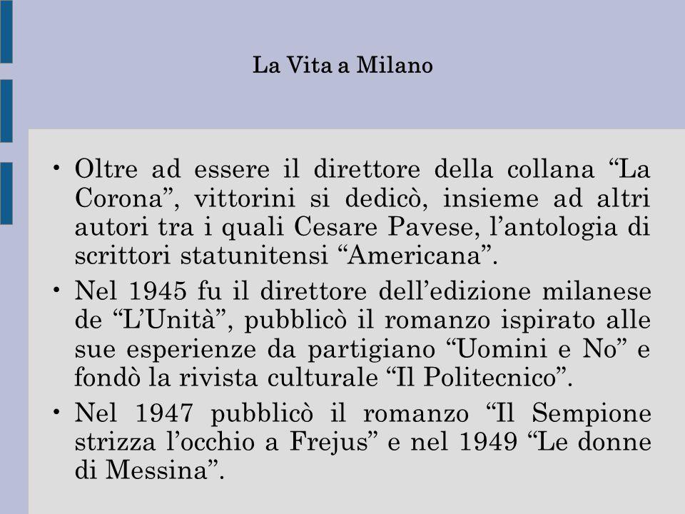 La Vita a Milano
