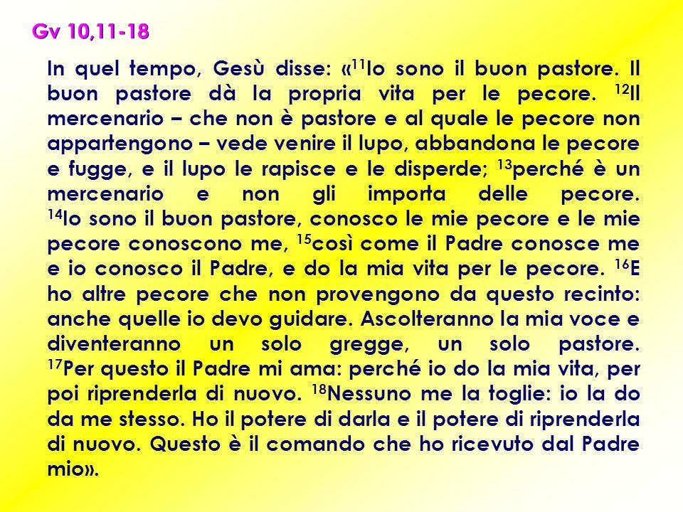 Gv 10,11-18