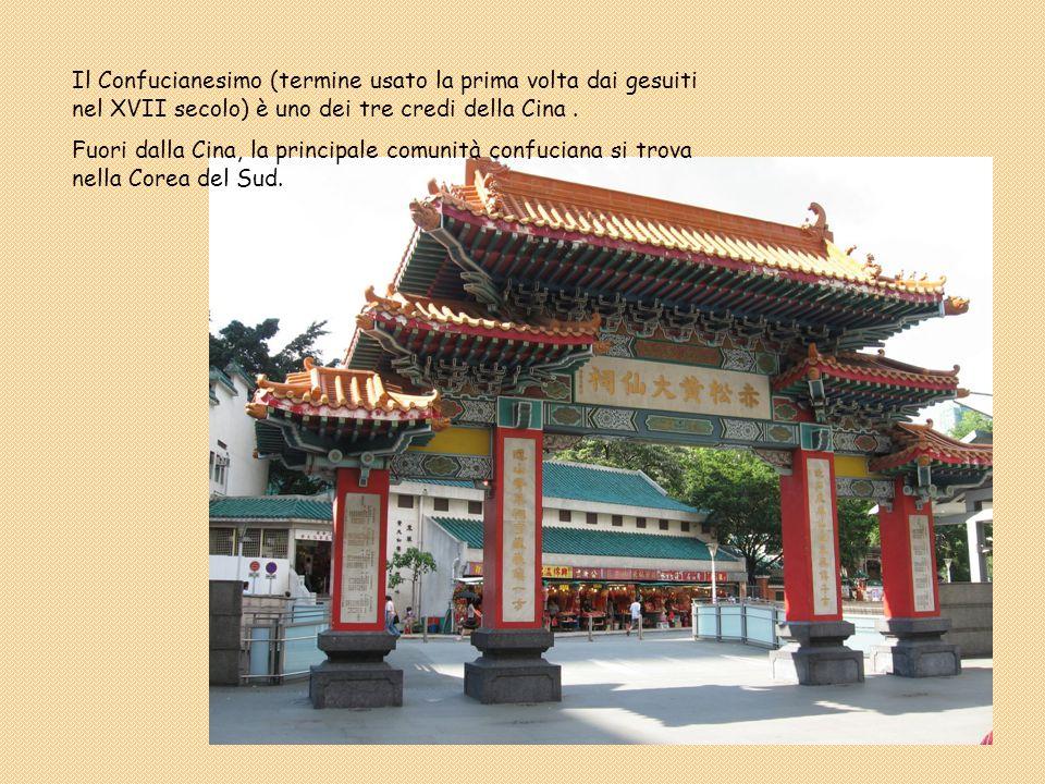 Il Confucianesimo (termine usato la prima volta dai gesuiti nel XVII secolo) è uno dei tre credi della Cina .