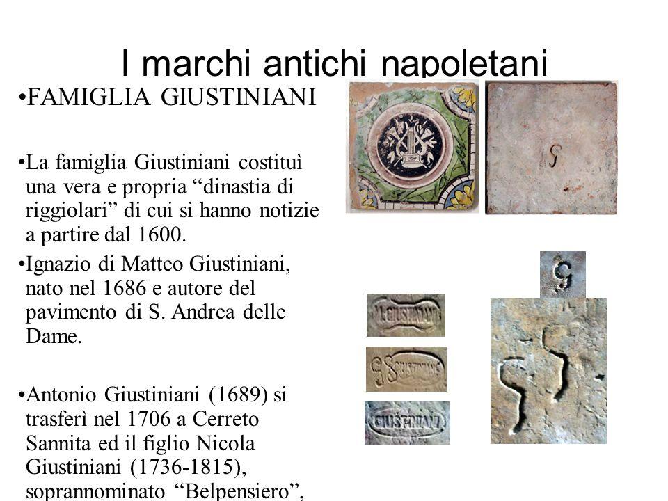 I marchi antichi napoletani
