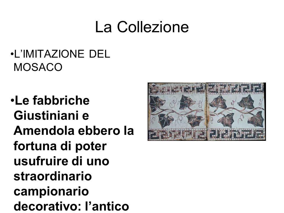 La Collezione L'IMITAZIONE DEL MOSACO.