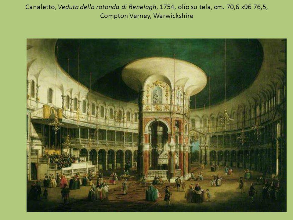 Canaletto, Veduta della rotonda di Renelagh, 1754, olio su tela, cm