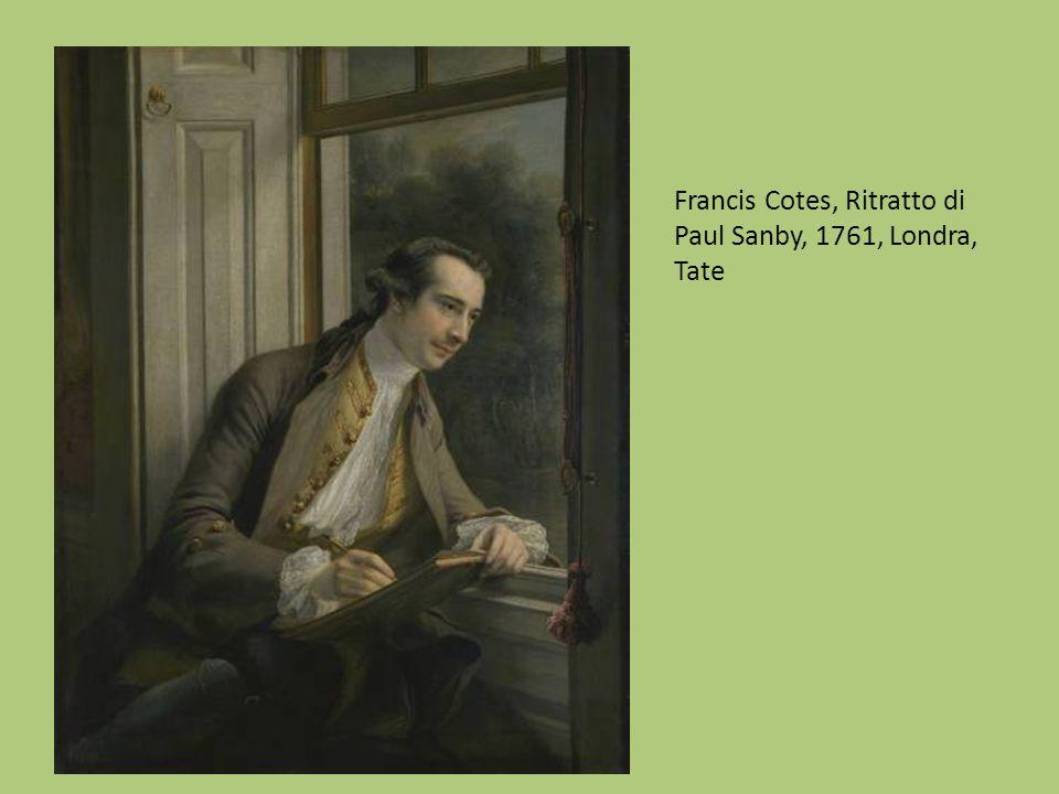 Francis Cotes, Ritratto di Paul Sanby, 1761, Londra, Tate