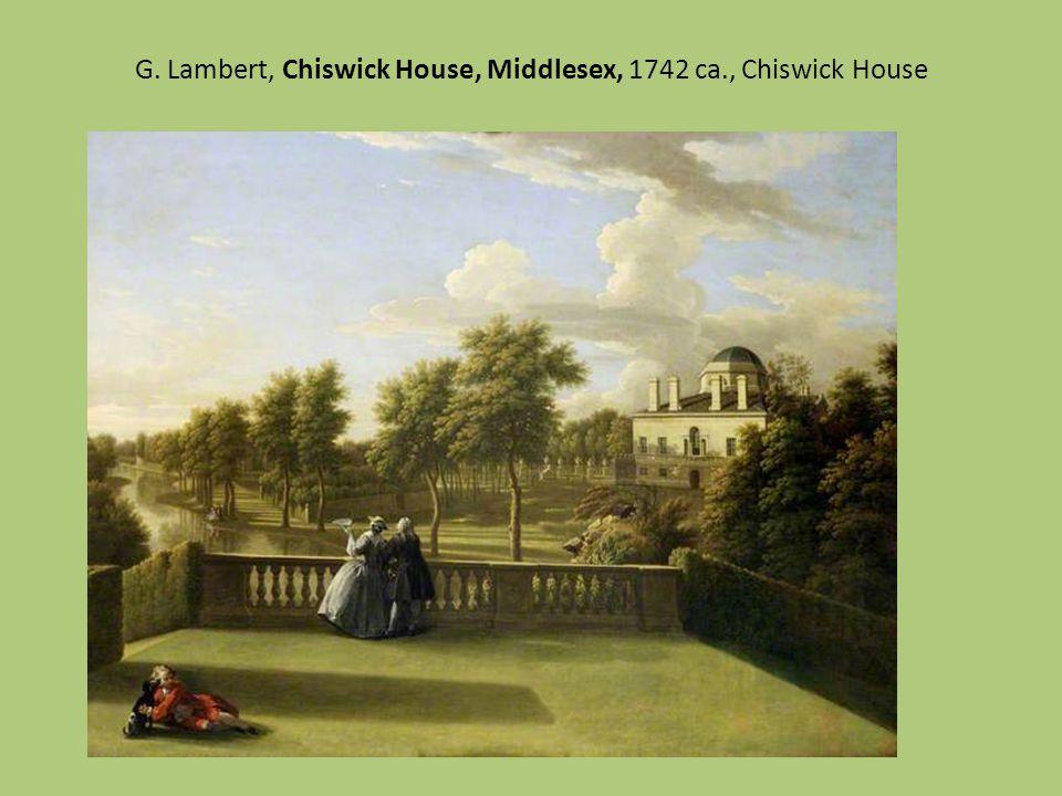G. Lambert, Chiswick House, Middlesex, 1742 ca., Chiswick House