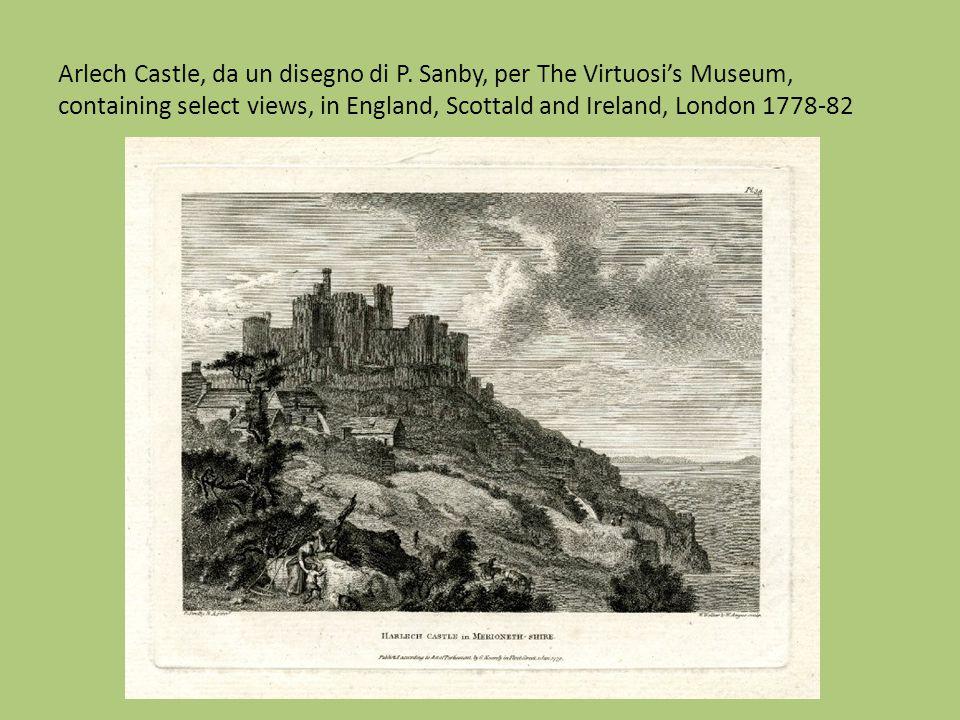 Arlech Castle, da un disegno di P