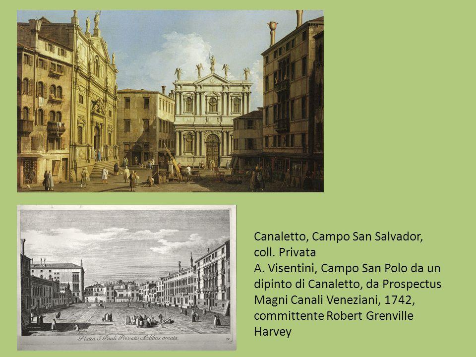 Canaletto, Campo San Salvador, coll. Privata A