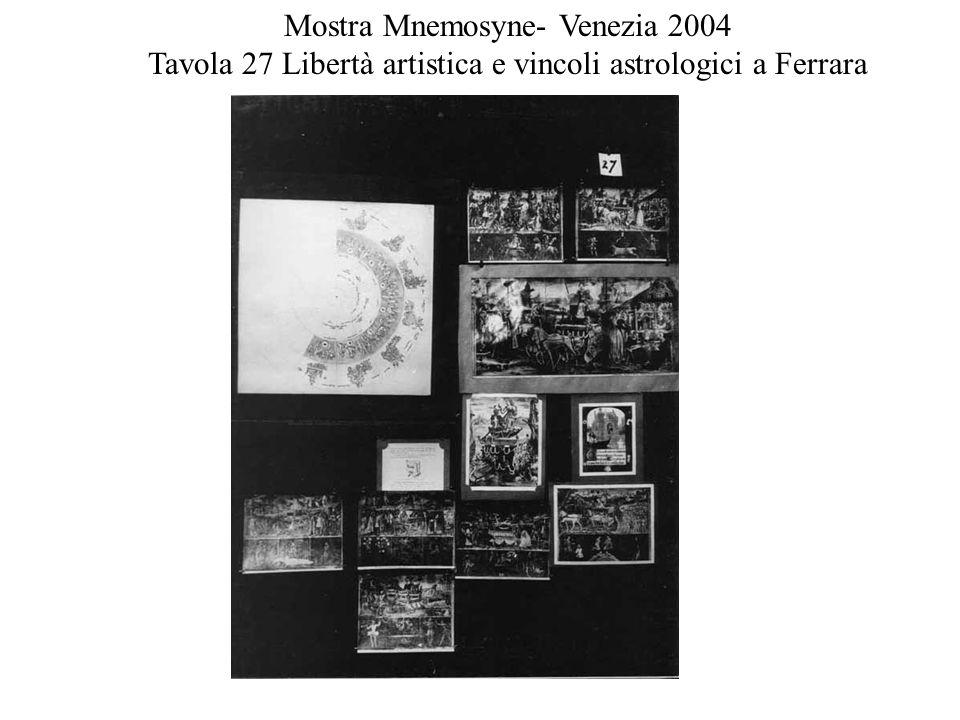 Mostra Mnemosyne- Venezia 2004
