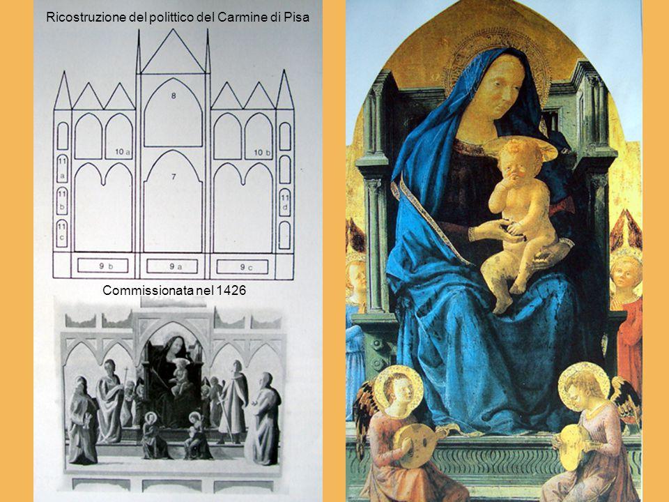 Ricostruzione del polittico del Carmine di Pisa