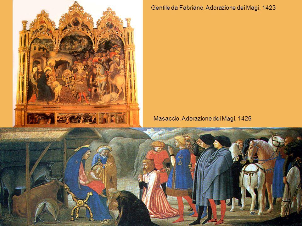 Gentile da Fabriano, Adorazione dei Magi, 1423
