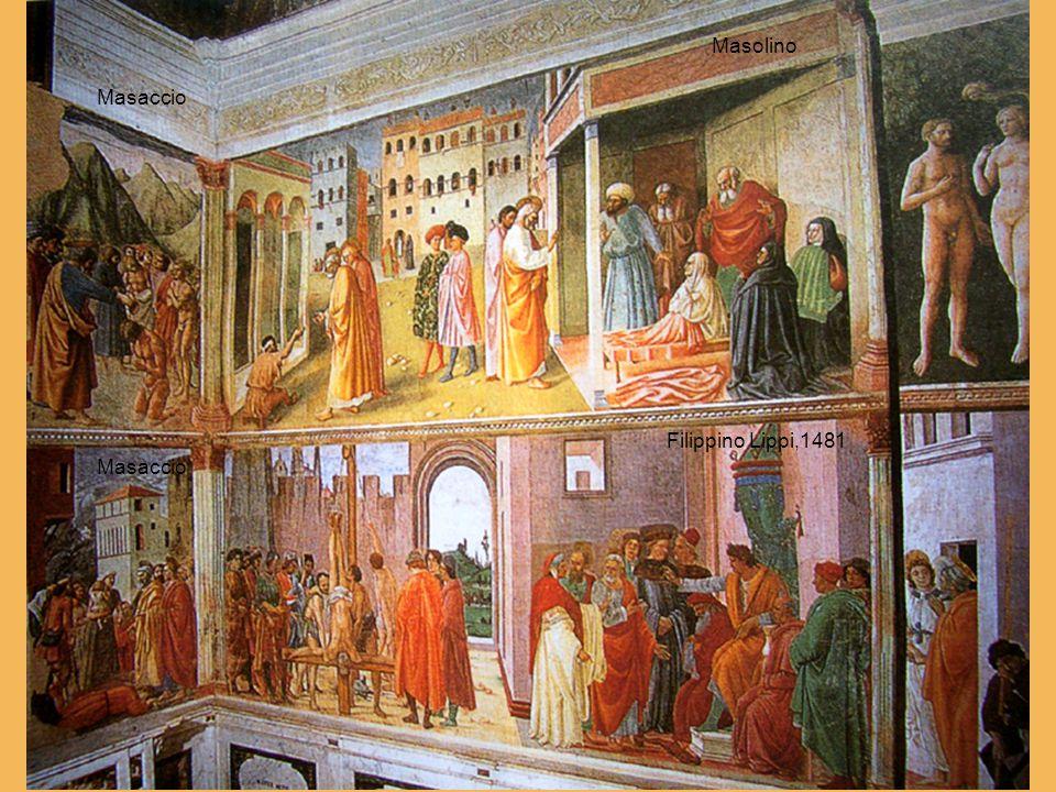 Masolino Filippino Lippi,1481 Masaccio