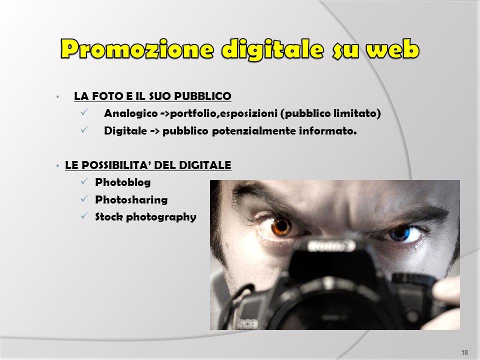 Promozione digitale su web