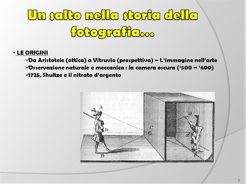 Un salto nella storia della fotografia…