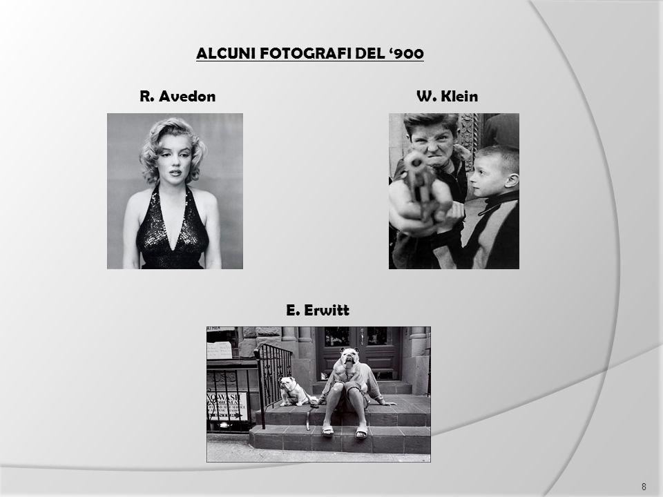 ALCUNI FOTOGRAFI DEL '900 R. Avedon W. Klein E. Erwitt