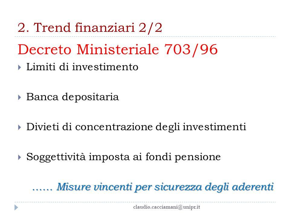Decreto Ministeriale 703/96