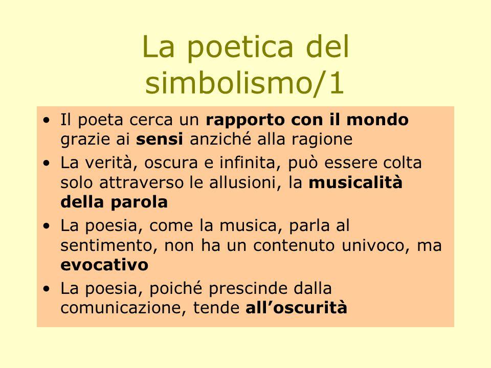 La poetica del simbolismo/1