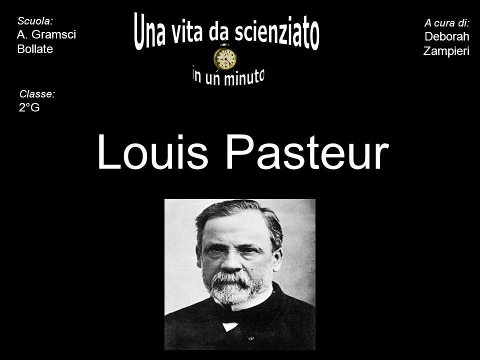 Louis Pasteur Una vita da scienziato in un minuto