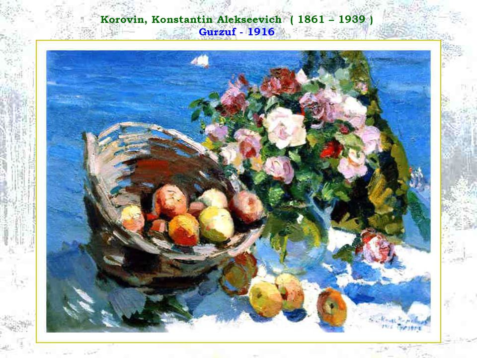 Korovin, Konstantin Alekseevich ( 1861 – 1939 ) Gurzuf - 1916