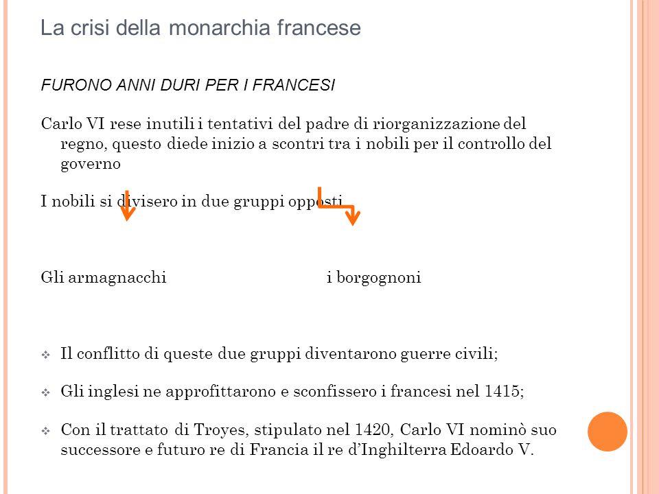 La crisi della monarchia francese