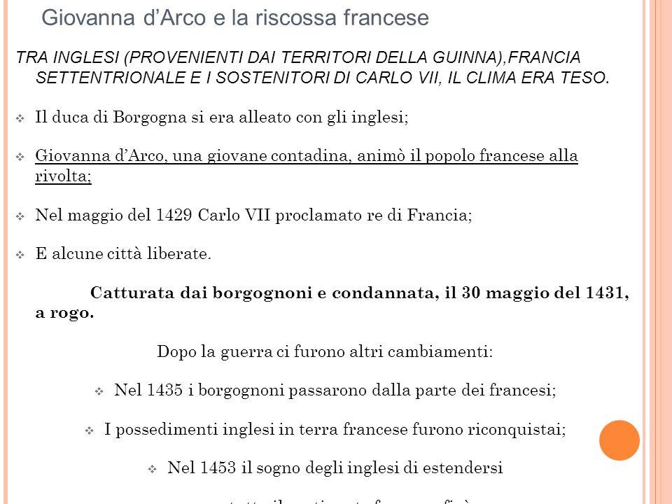 Giovanna d'Arco e la riscossa francese