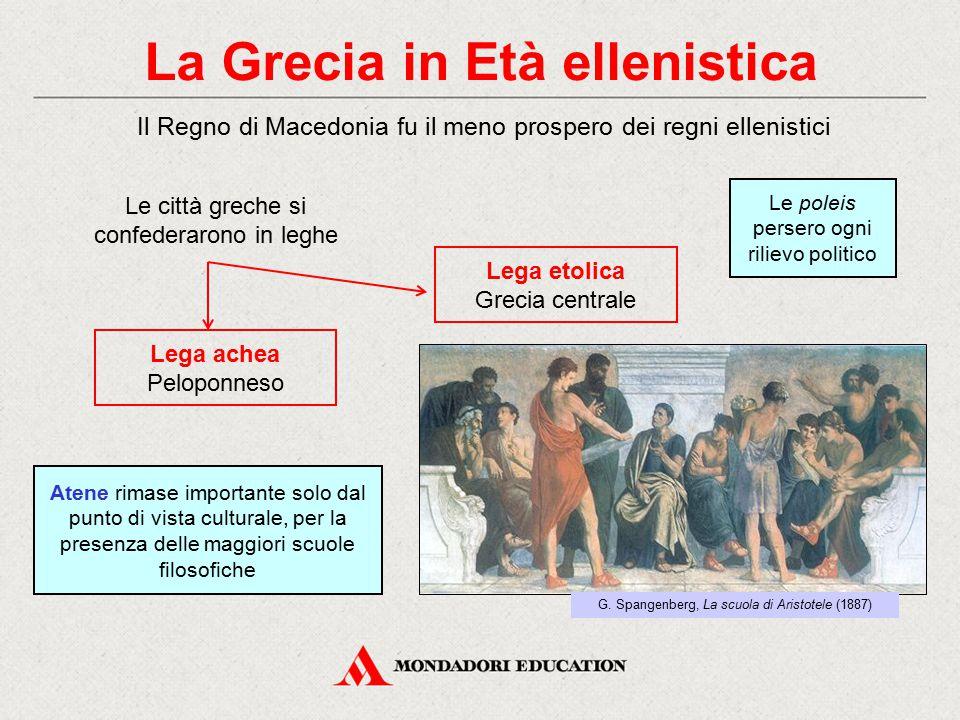 La Grecia in Età ellenistica