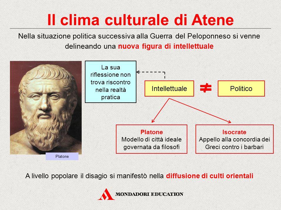 Il clima culturale di Atene