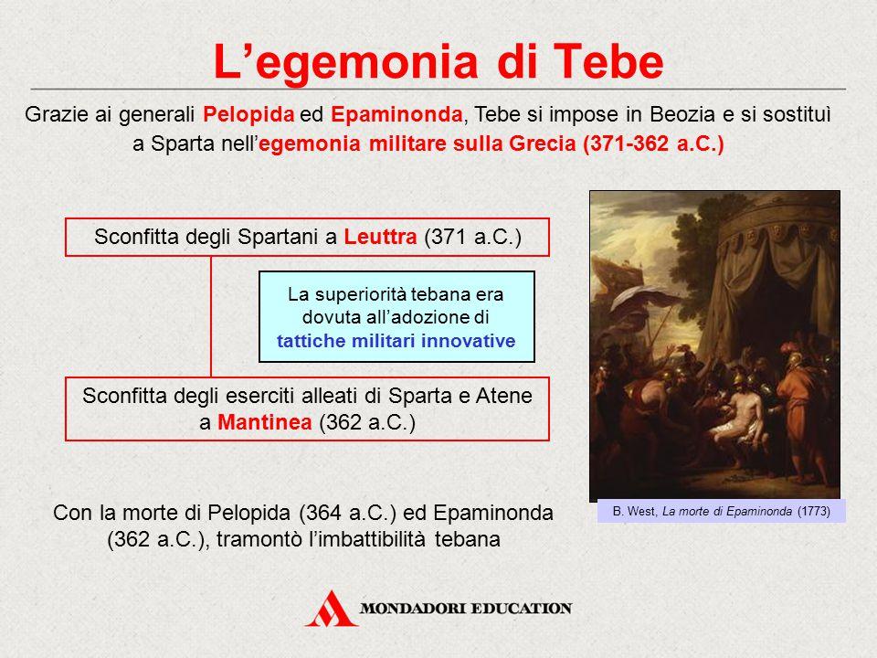 L'egemonia di Tebe