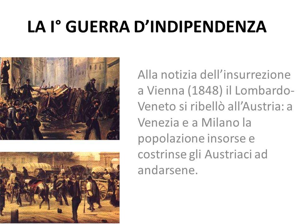 LA I° GUERRA D'INDIPENDENZA