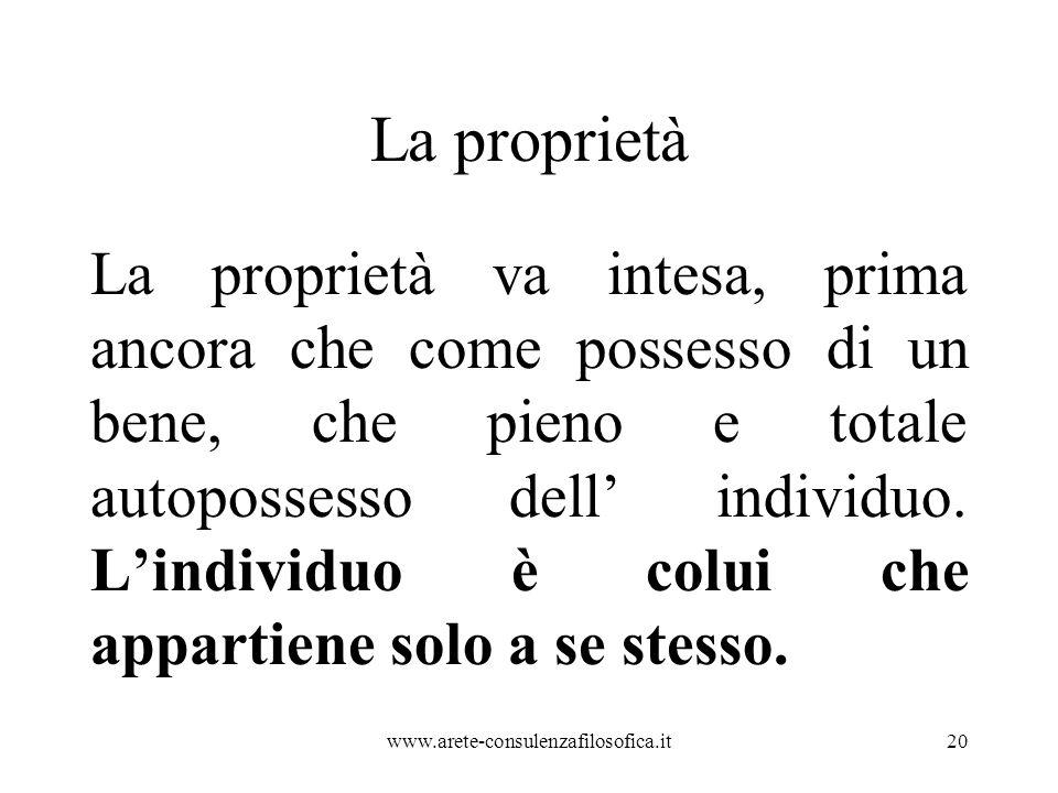 La proprietà
