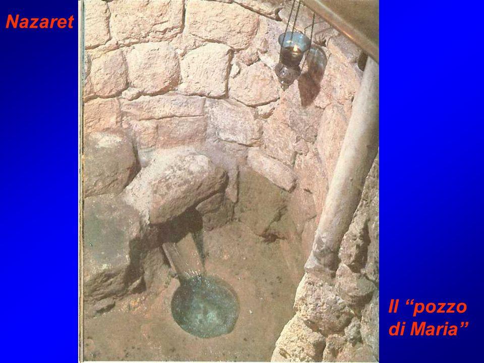Nazaret Il pozzo di Maria