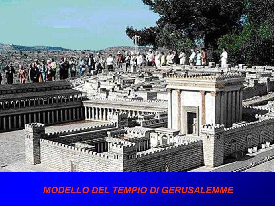 MODELLO DEL TEMPIO DI GERUSALEMME