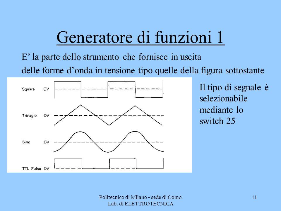 Generatore di funzioni 1